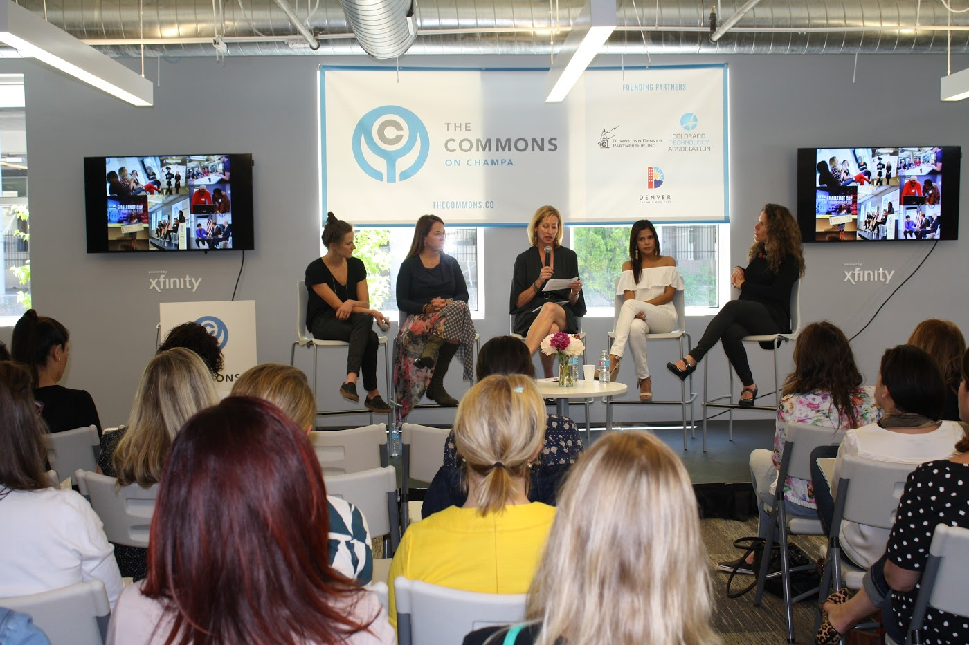Commons Launches Women on the Rise